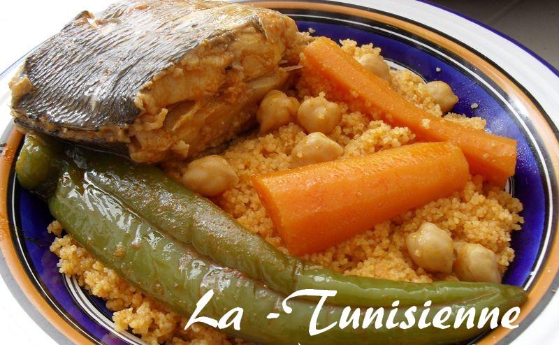 Couscous de bizerte la dorade for Vente poisson rouge tunisie