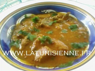 Kamounia – Sauce au foie et au cumin