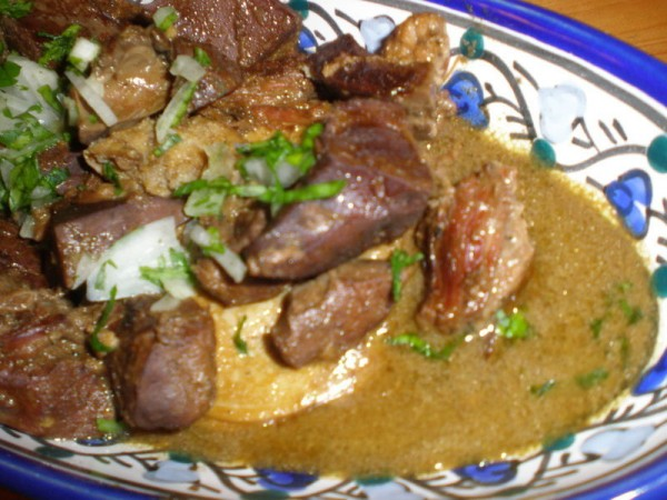 Qleya tunisienne agneau au curcuma - Cuisine tunisienne ramadan ...