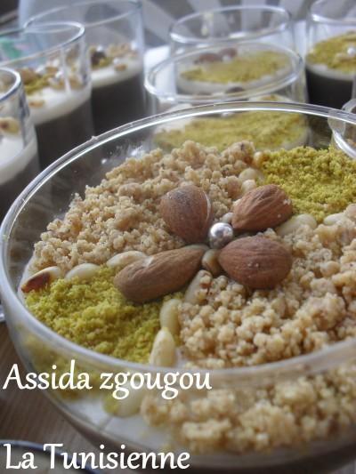 Spécialité tunisienne : Assida zgougou
