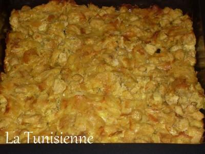 Tajine malsouqa (ou tajine brick) au poulet