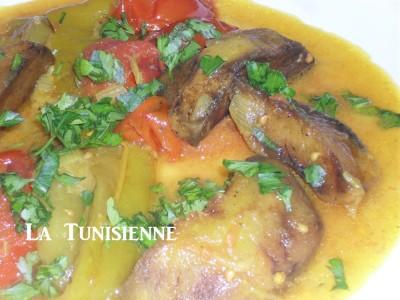 Marqa zaara tunisienne – Sauce tunisienne au curcuma