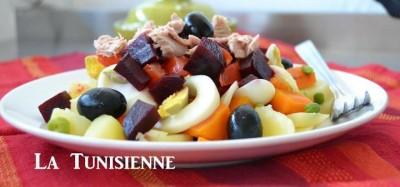 Slata masmouta – Salade tunisienne de légumes