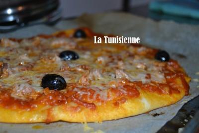 Pizza au thon à la tunisienne