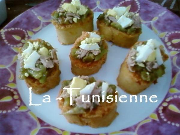 salade blankite tunisienne