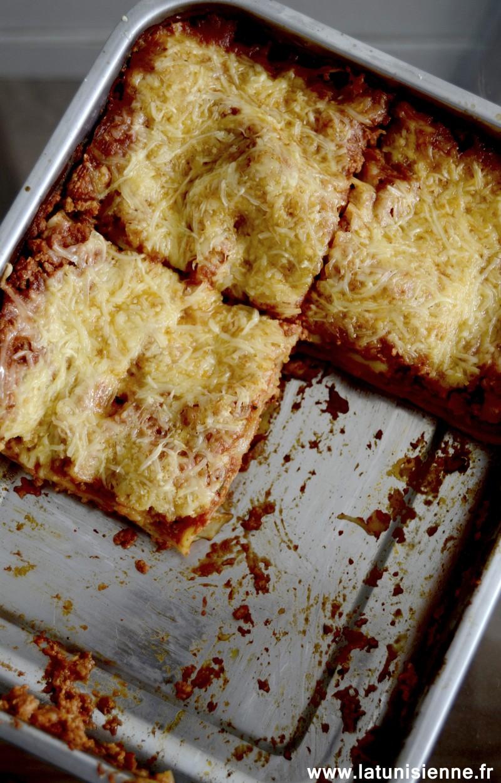 lasagnes bolognaise tunisienne 1