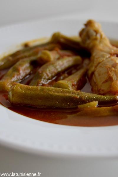 Ragoût tunisien aux gombos – Gnaouia tounsia
