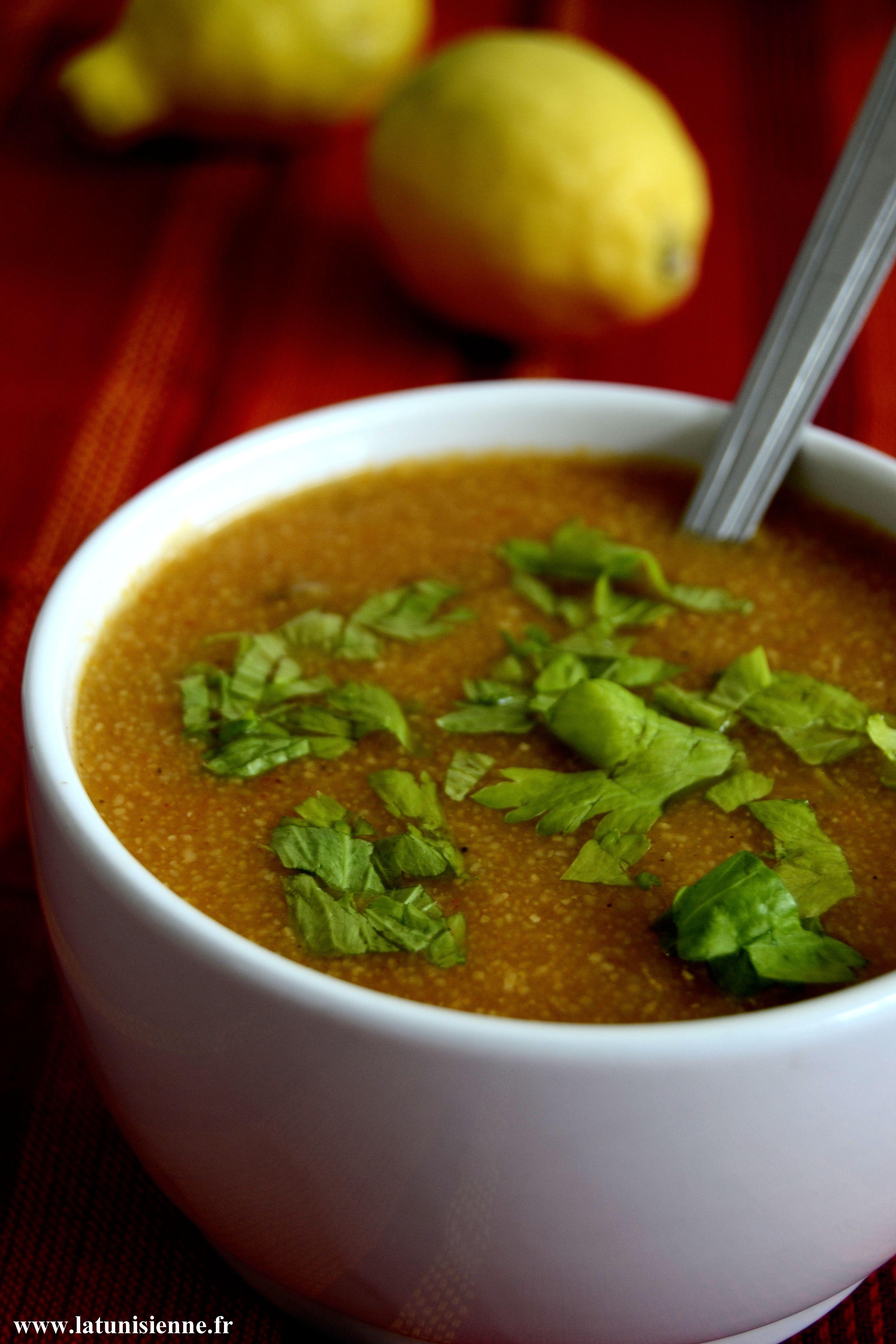 Chorba tunisienne le sder - Cuisine tunisienne ramadan ...