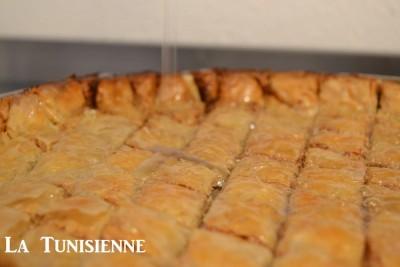 Recette exclusive de la baklava tunisienne