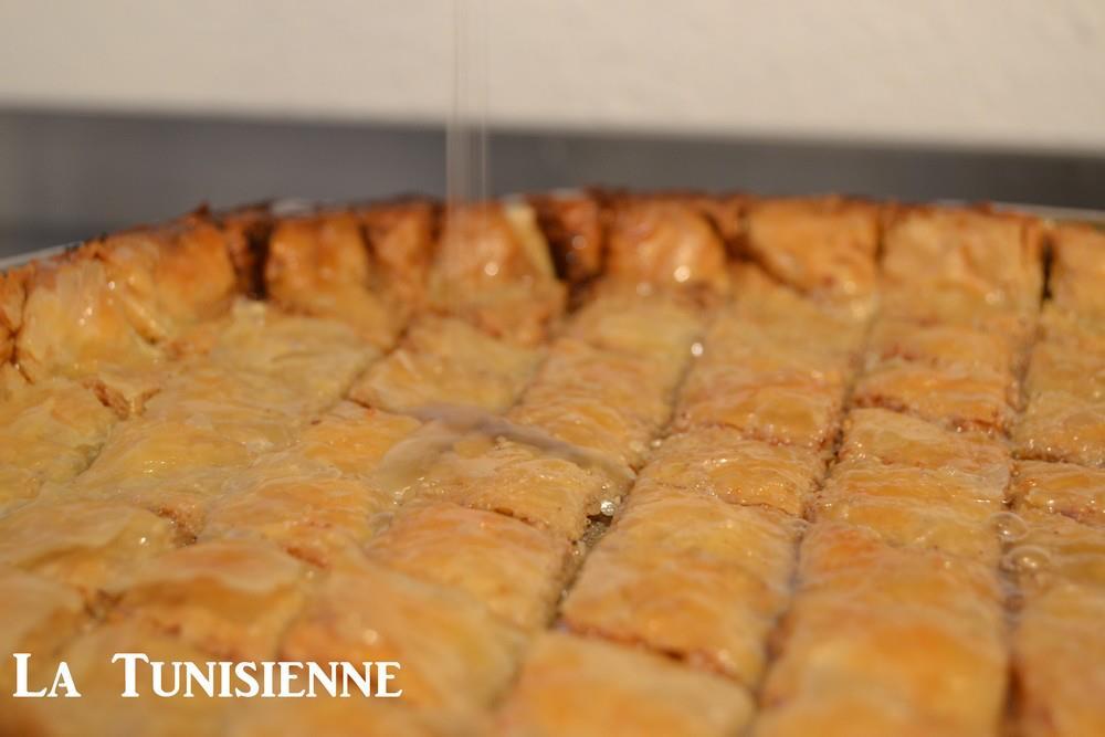 Recette exclusive de la baklava tunisienne - Recette de cuisine tunisienne facile et rapide en arabe ...