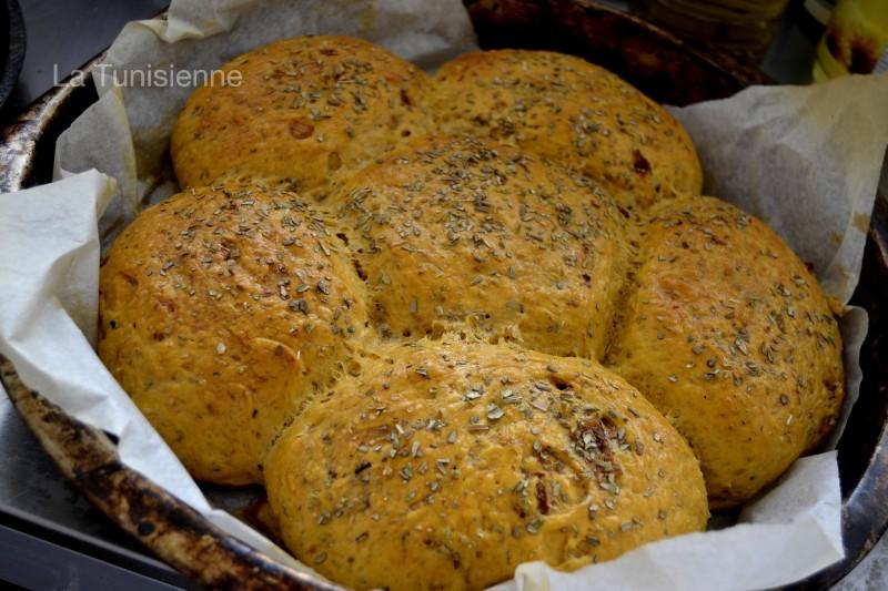 pain aux tomates séchées 3