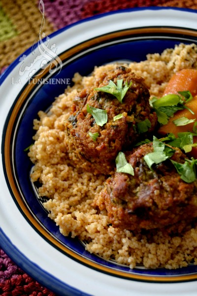 Couscous aux boulettes d'aneth – Chebtiya