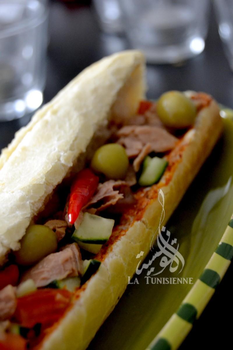 sandwich tunisien 3