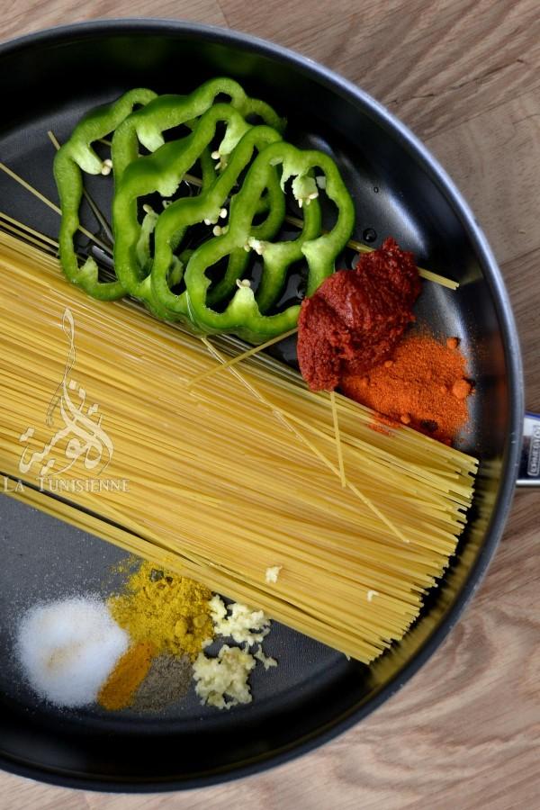 one pot pasta tunisie 1