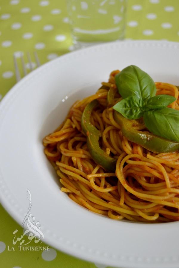 one pot pasta tunisie 5