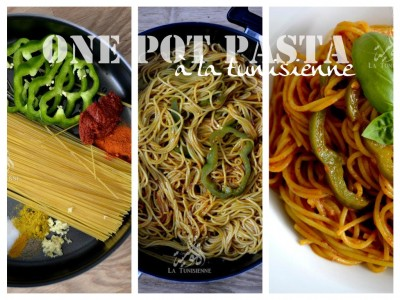 One Pot Pasta version tunisienne