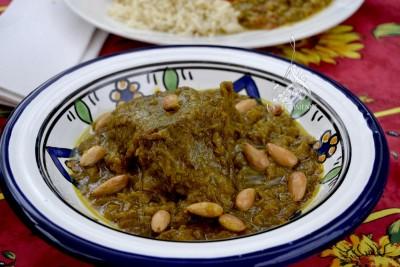 Cuisine marocaine : tajine de veau aux amandes