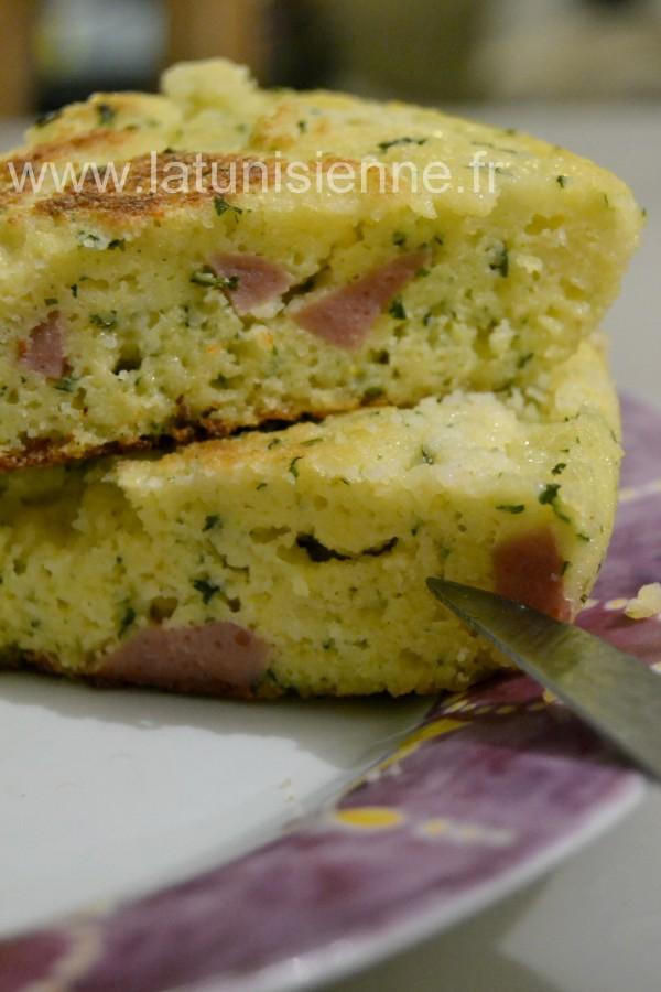 galette restes couscous salami 3