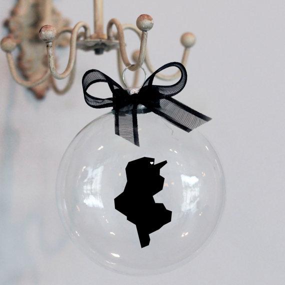 Une boule de Noël Tunisie, j'adore l'idée!