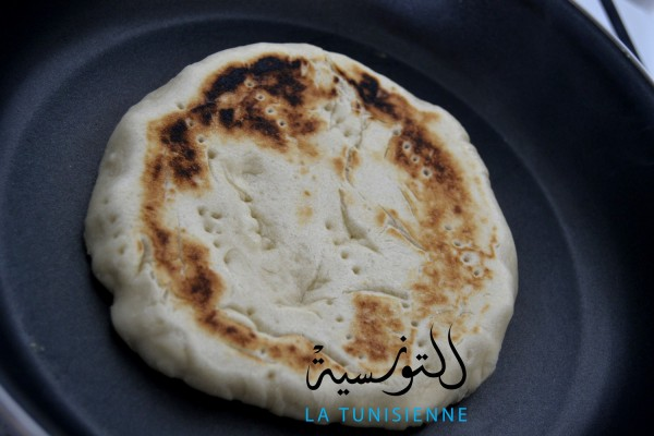 chapati tunisien 3