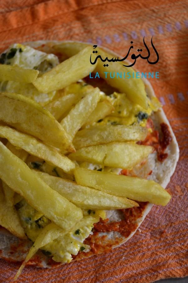 chapati tunisien 6