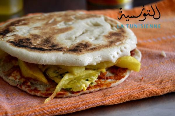 chapati tunisien 7