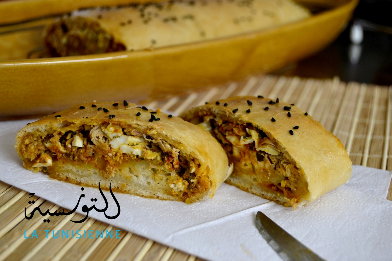Pain brioch farci la tunisienne - Cuisine tunisienne ramadan ...