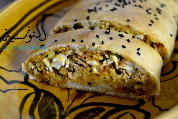 pain farci tunisien 6