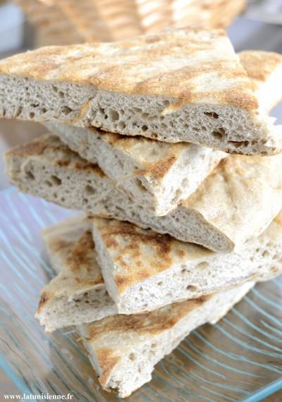 GALETTE À LA FARINE DE SEIGLE – خبز الجاودار