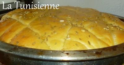 pain moelleux aux graines de fenouil