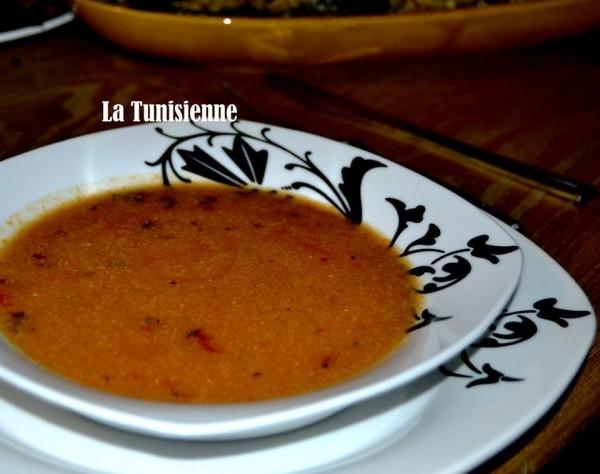 Mdech'cha - Soupe kabyle - La Tunisienne