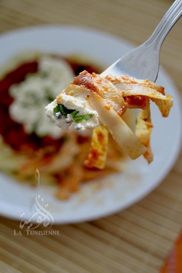 tagliatelles tomate ricotta 5