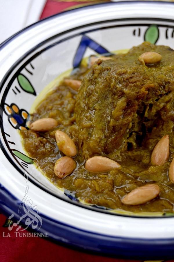 tajine marocain veau amandes