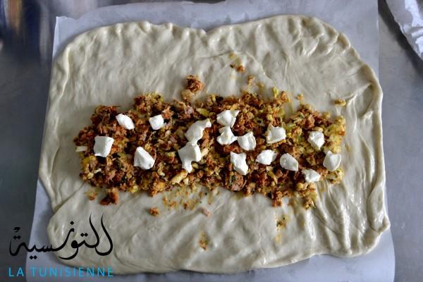 pain farci tunisien 9